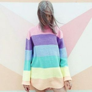 Unif pastel lookalike sweater